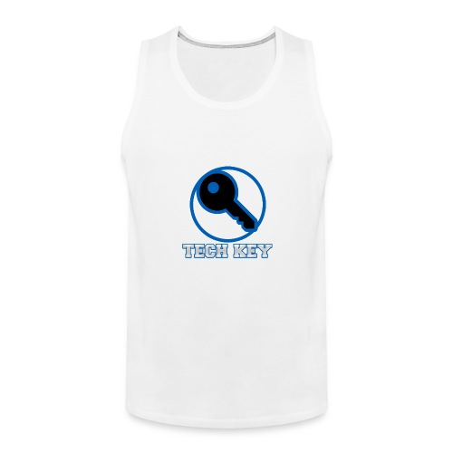 TechKey TV Logo - Men's Premium Tank