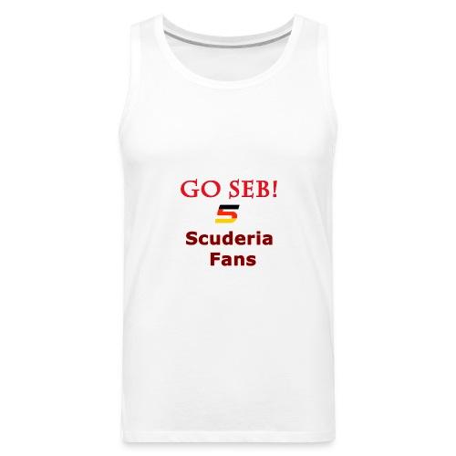 Go Seb! Scuderia Fans design - Men's Premium Tank