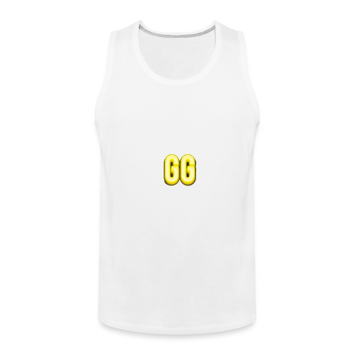 gg golden gamer logo - Men's Premium Tank