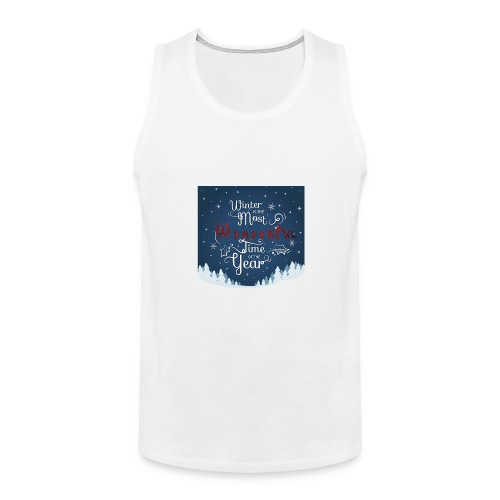 Winter Theme - Men's Premium Tank