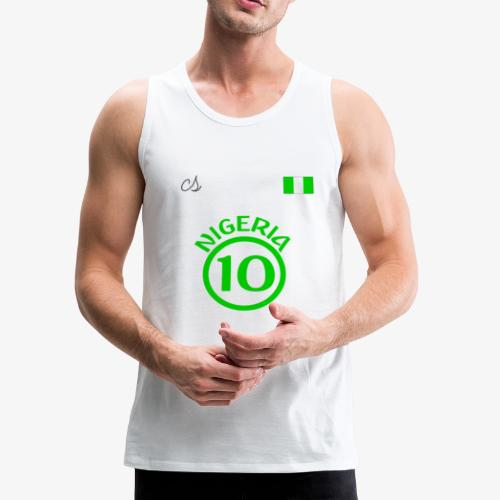Nigerian Soccer Fan T-Shirt - Men's Premium Tank