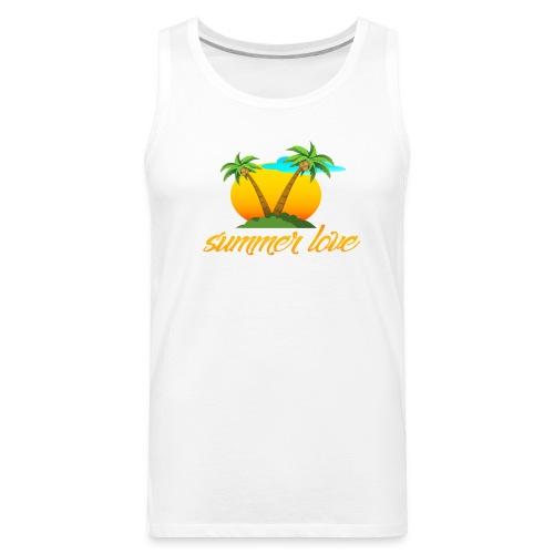 Summer Love Collection - Men's Premium Tank