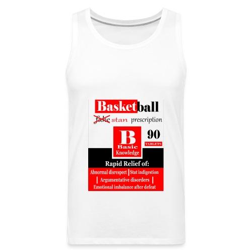 basketball prescription final - Men's Premium Tank