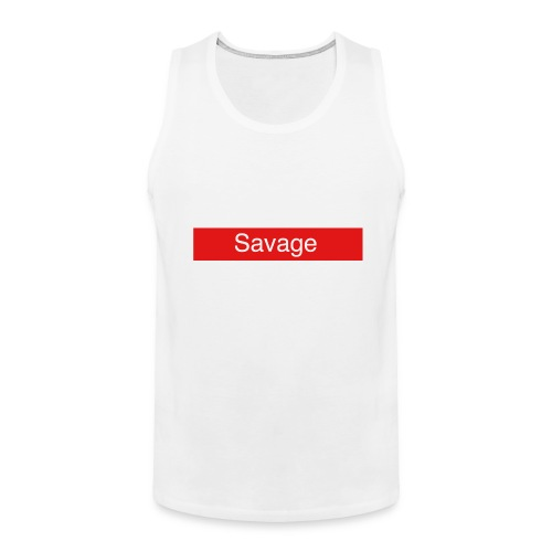 Savage merch - Men's Premium Tank