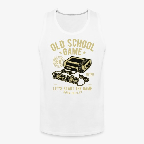 Old School Game - Men's Premium Tank