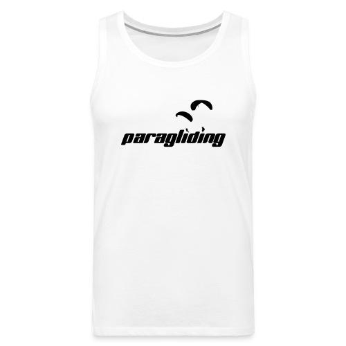 Paragliding Logo Shirt 01 - Men's Premium Tank