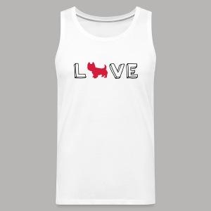Westie Love - Men's Premium Tank