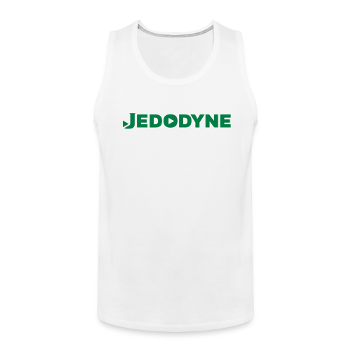 JEDODYNE CLASSIC GREEN TEXT - Men's Premium Tank