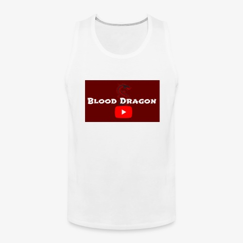 Fire Red BloodDragon logo - Men's Premium Tank