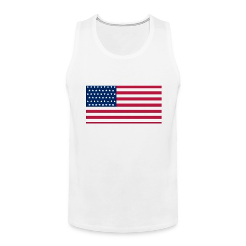 usa flag - Men's Premium Tank