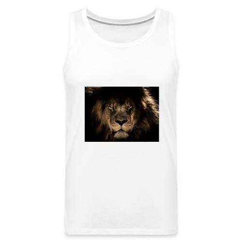 african lion 2888519 1920 - Men's Premium Tank