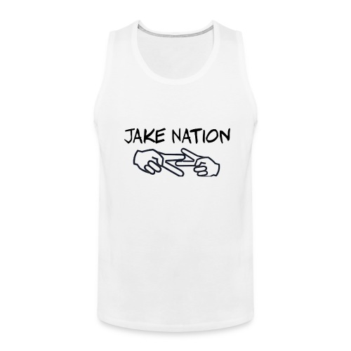Jake nation phone cases - Men's Premium Tank
