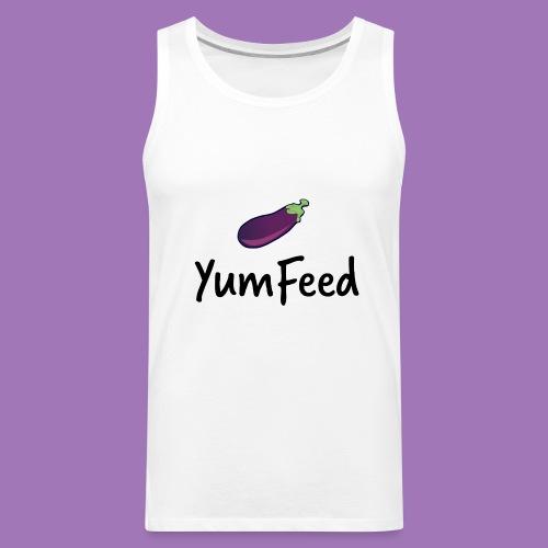 YumFeed logo - Men's Premium Tank