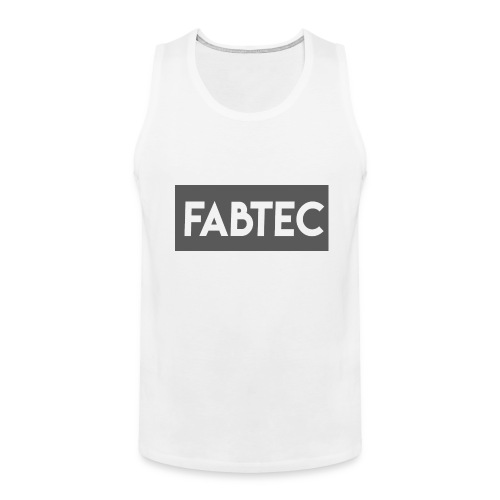NEW FABTEC SHIRT - Men's Premium Tank