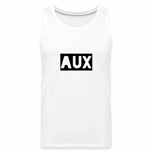 Classic black and white Aux merch - Men's Premium Tank