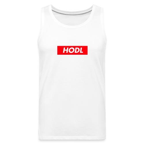 Hodl BoxLogo - Men's Premium Tank