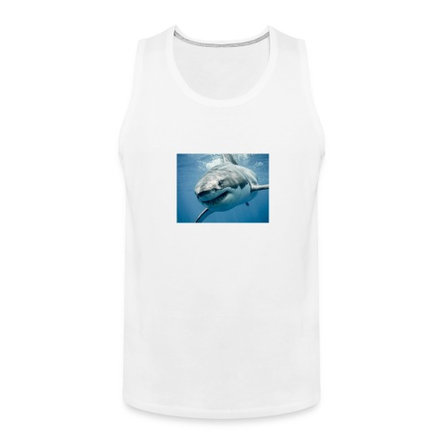 great-white-shark - Men's Premium Tank