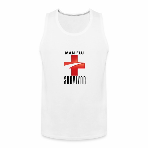 Man Flu Survivor - Men's Premium Tank