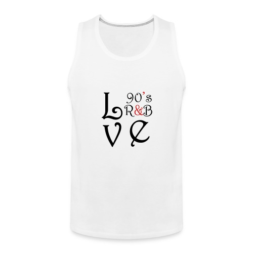 i Love 90s R&B - Men's Premium Tank