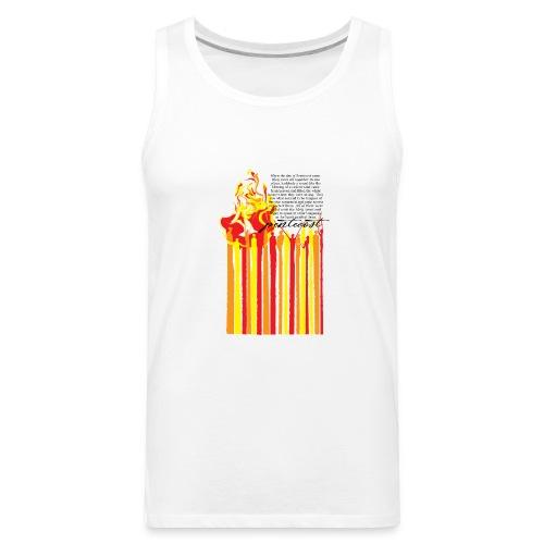 PENTECOST (for white T-shirt) - Men's Premium Tank