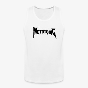 METATOXIC Text Logo (Black) - Men's Premium Tank