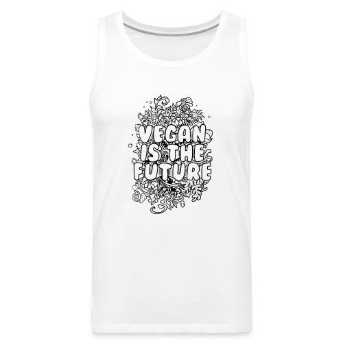 Vegan is the future - Men's Premium Tank