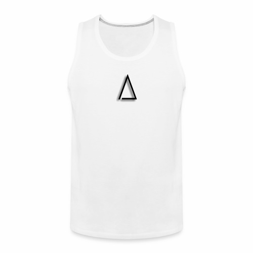 A / Tri / illuminated / Alpha / triathlete - Men's Premium Tank