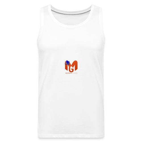 MaddenGamers MG Logo - Men's Premium Tank