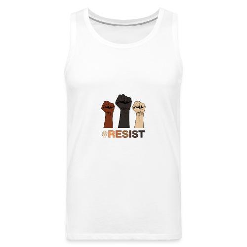 Resist / Racial Justice - Men's Premium Tank