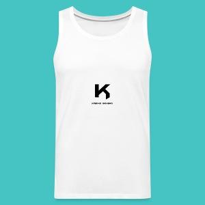 karma_gaming_logo - Men's Premium Tank