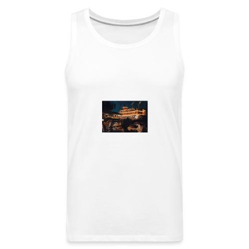 Peaceful Night - Men's Premium Tank