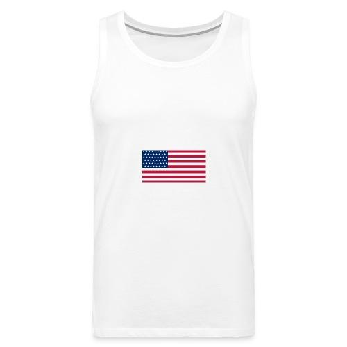 usa flag - Men's Premium Tank