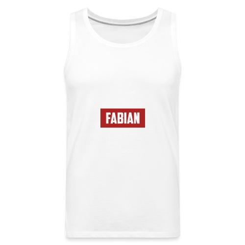 Fabian Logo - Men's Premium Tank