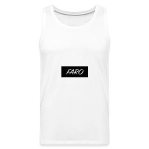 FARO_Logo - Men's Premium Tank