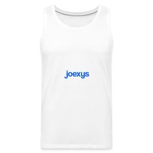 joexys_blue - Men's Premium Tank