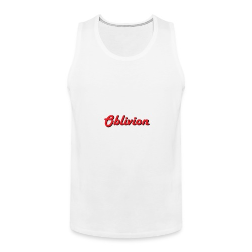 Oblivion Text Design - Men's Premium Tank
