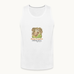Beauty Everywhere Carolyn Sandstrom - Men's Premium Tank