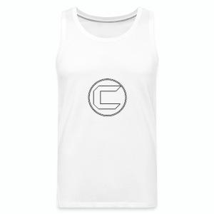 White Cyphon Clan Logo - Men's Premium Tank