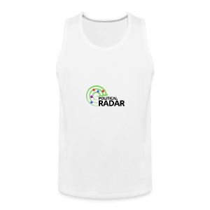 Political Radar Logo - Black - Men's Premium Tank