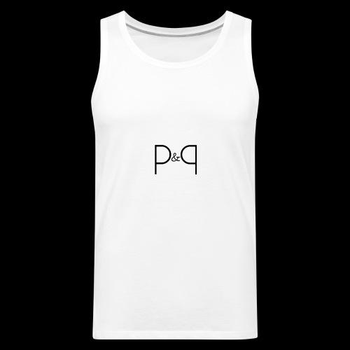 Phoebe & Petard Logo (Initials) - Men's Premium Tank