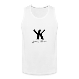 Young Kevino Official Logo (Black) - Men's Premium Tank
