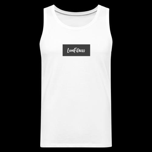 LeonFitness Box Logo - Men's Premium Tank