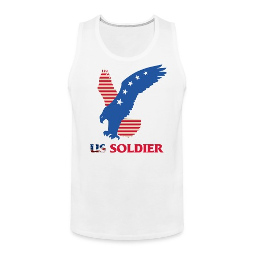 US Soldier Art Design - Men's Premium Tank