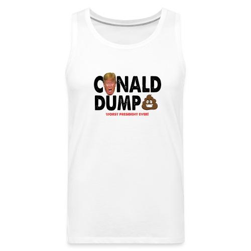Conald Dump Worst President Ever - Men's Premium Tank