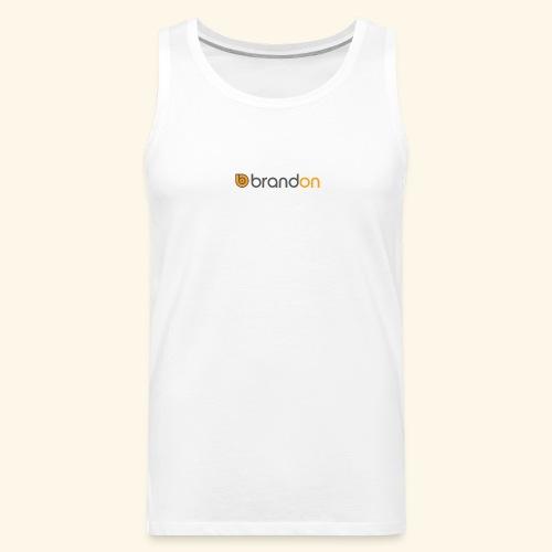 Carhart brandon logo - Men's Premium Tank