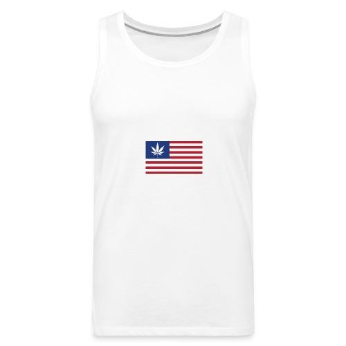 american-weed - Men's Premium Tank