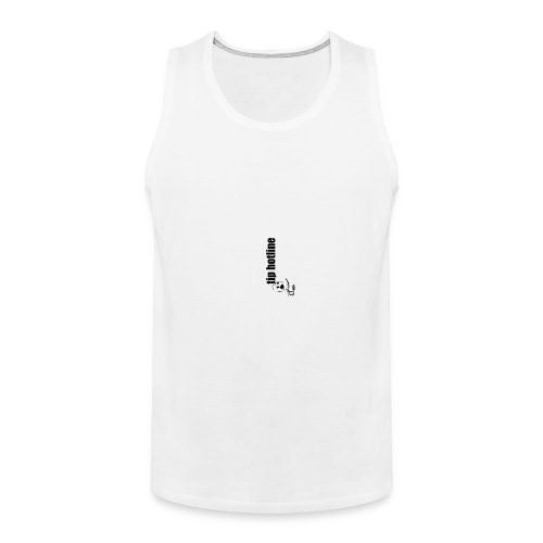Tip hotline Phone Case - Men's Premium Tank