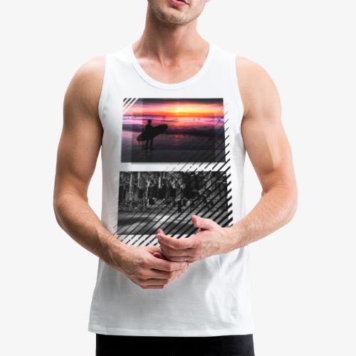SURF VS CITY - Men's Premium Tank