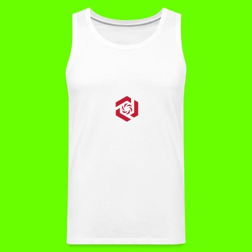 Temporary Logo Design - Men's Premium Tank