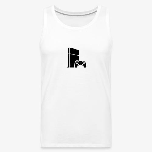 Logo PS4 - Men's Premium Tank